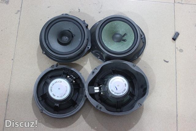 重庆福特福克斯汽车音响改装,惠威F1600 CF260 四门德维隔音 音响高清图片