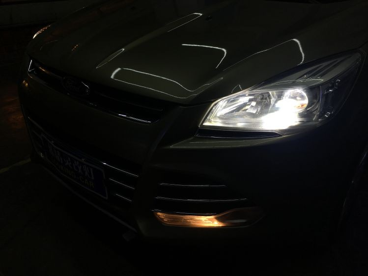 福特翼虎改装米石led大灯