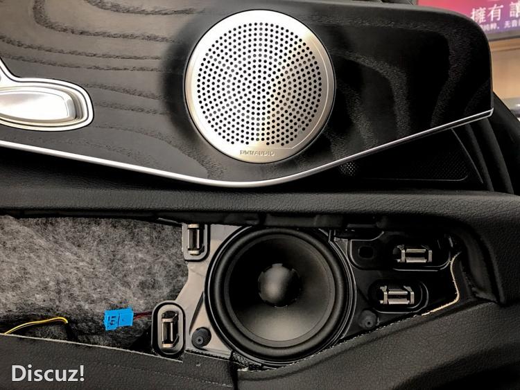 西安汽车音响改装 西安车乐汇奔驰c200l音响改装丹麦丹拿奔驰专车专用